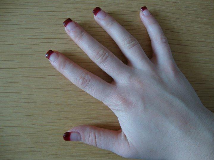 Gelnagels voorbeelden nagelsalon elegenace elegance manicure pedicure te hever - Foto van sallon ...